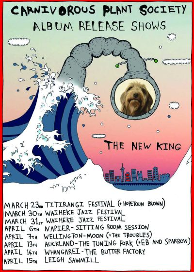 Carnivorous Plant Society - The New King Release Tour