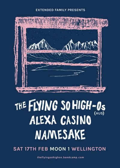 The Flying So High-Os (AUS), Alexa Casino, Namesake