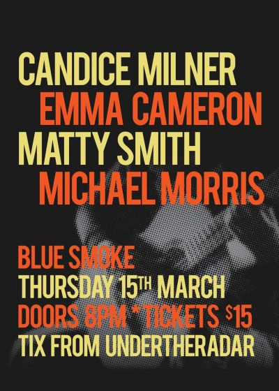 Candice Milner, Emma Cameron, Matty Smith, Michael Morris