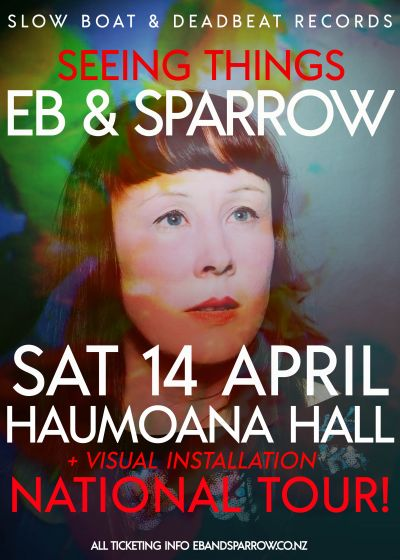 Eb and Sparrow - Seeing Things Album Tour