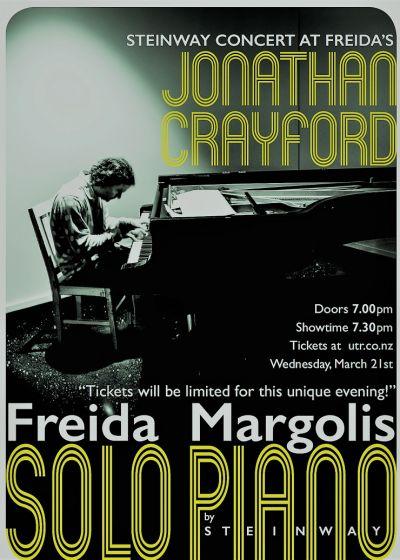 Crayford + Steinway Concert Grand at Freida's