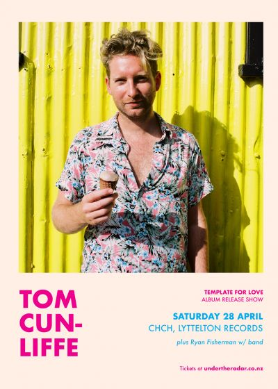 Tom Cunliffe - Template For Love Album Tour