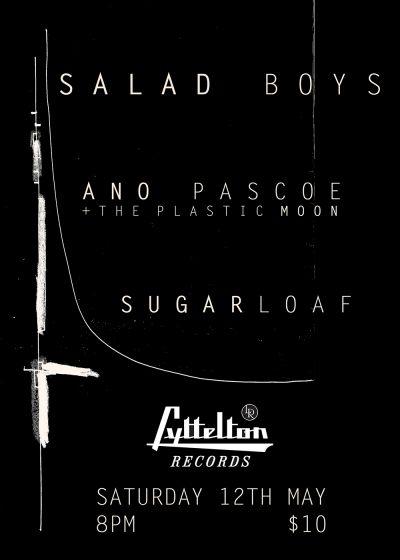 Salad Boys, Ano Pascoe & The Plastic Moon, Sugarloaf