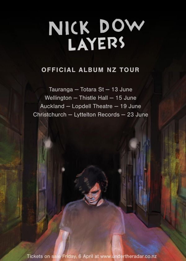 Nick Dow - Layers Album Release Tour