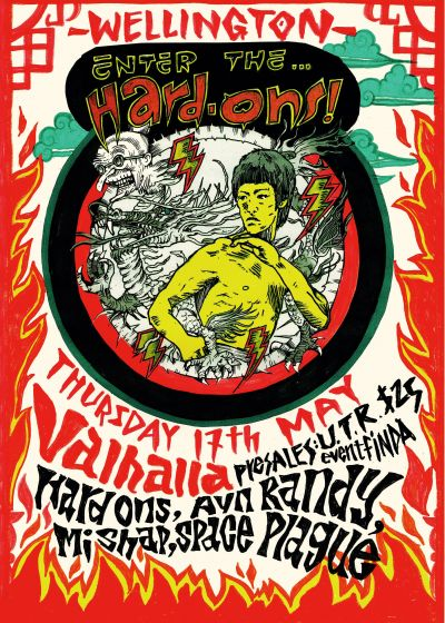 The Hard Ons  - 2018 New Zealand Tour