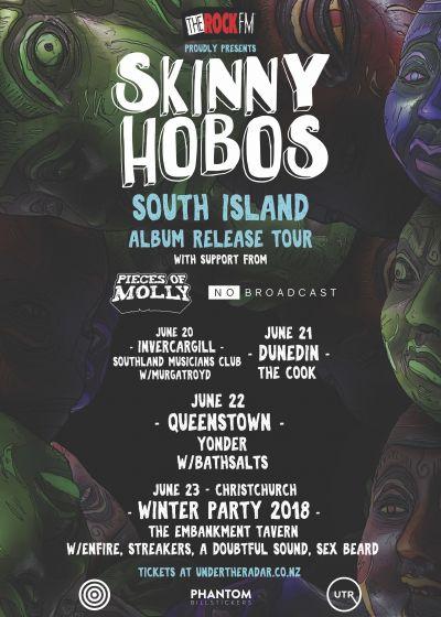 Skinny Hobos Album Release Tour
