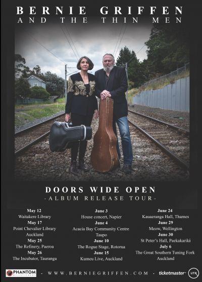 Bernie Griffen and The Thin Men - Doors Wide Open Tour