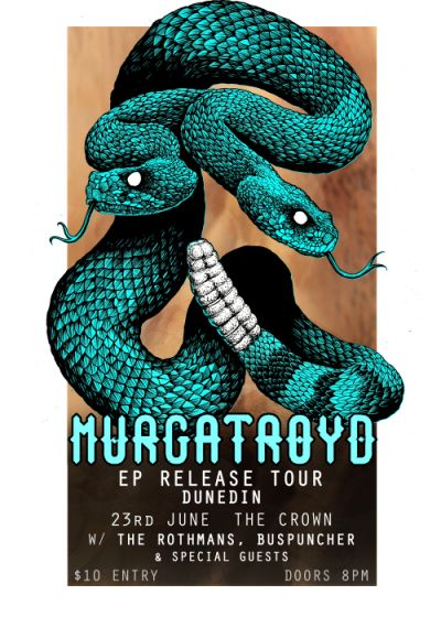 Murgatroyd with Buspuncher, Anarchy Drive,The Rothmans