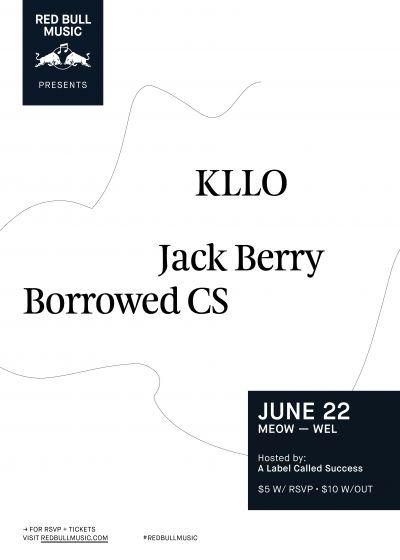 Red Bull Music Presents Kllo - Meow, Wellington