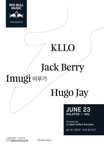 Red Bull Music Presents Kllo - Galatos, Auckland