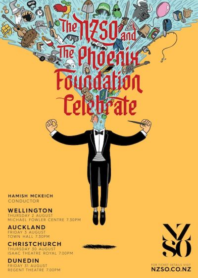 The Phoenix Foundation (with NZSO)
