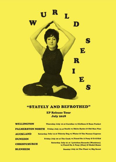 Wurld Series 'Stately And Befrothed' EP Release Tour