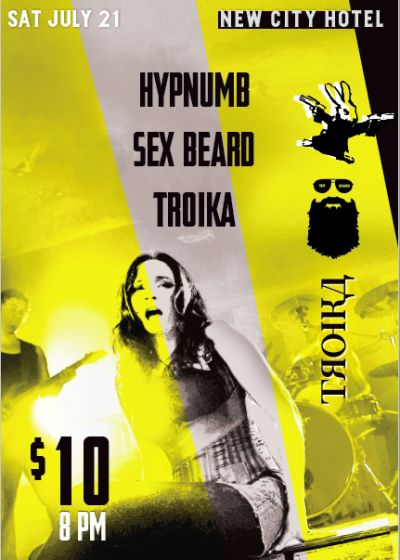 Hypnum, Sex Beard, Troika
