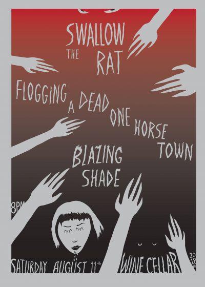 Swallow the Rat + FADOHT + Blazing Shade