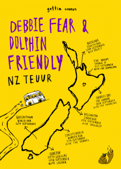 Debbie Fear and Dolphin Friendly - NZ Teuur