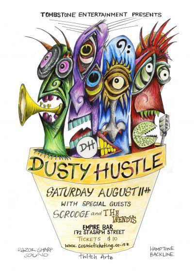 Dusty Hustle, Scrooge, The Wendys
