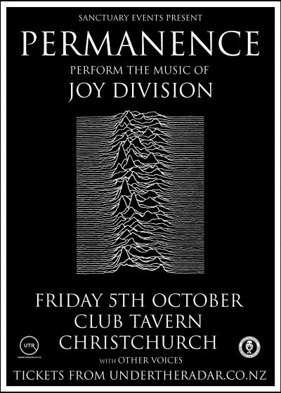 Permanence Perform The Music Of Joy Division