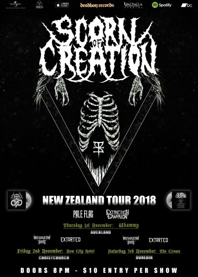Scorn Of Creation - NZ Tour 2018