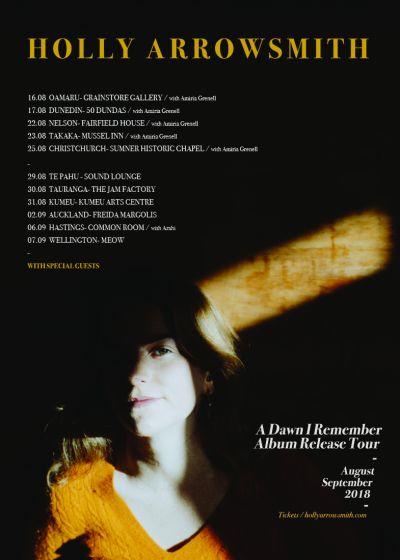 Holly Arrowsmith - A Dawn I Remember Album Release