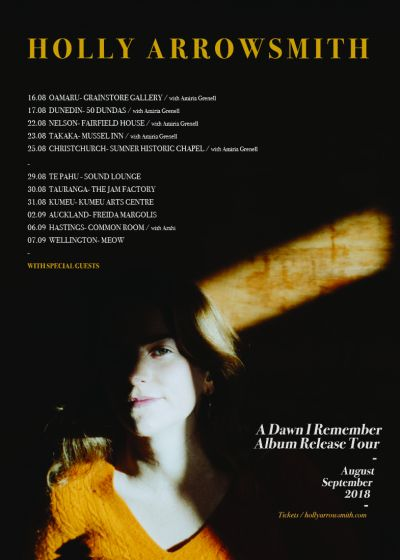 Holly Arrowsmith - A Dawn I Remember Album Release Tour