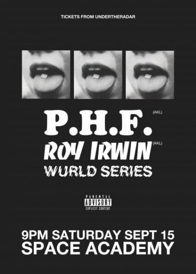 Phf, Roy Irwin and Wurld Series