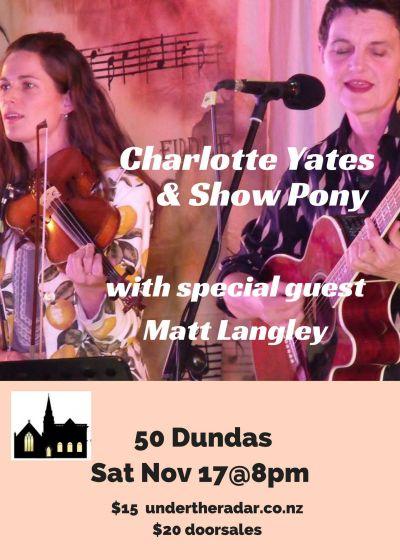 Charlotte Yates and Show Pony with Matt Langley