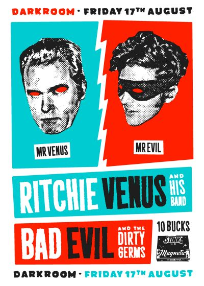 Ritchie Venus, Bad Evil