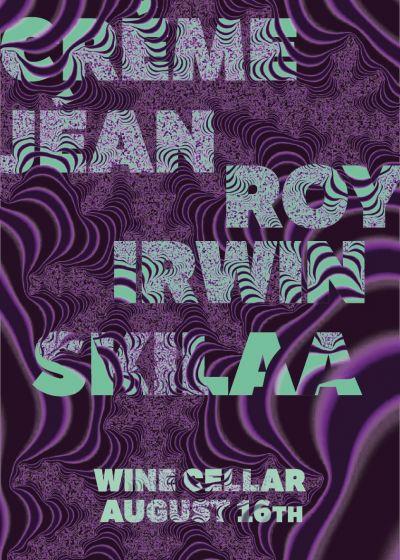 Creme Jean, Roy Irwin, Skilaa