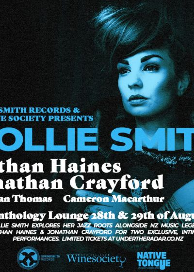 Hollie Smith with Nathan Haines and Jonathan Crayford