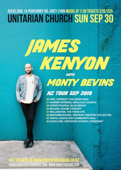 James Kenyon - NZ Tour with Monty Bevins