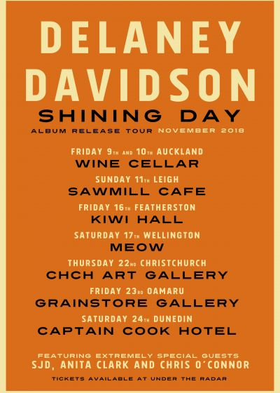 Delaney Davidson - Shining Day Release