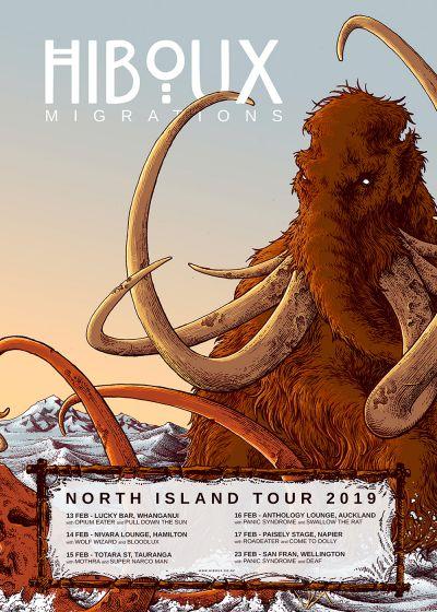 Hiboux Migrations - North Island Tour