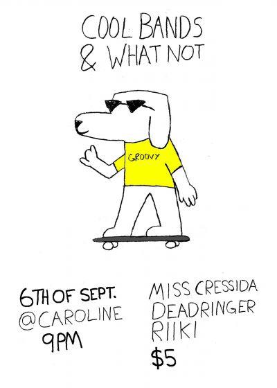 Miss Cressida, DEADRINGER, RIIKI