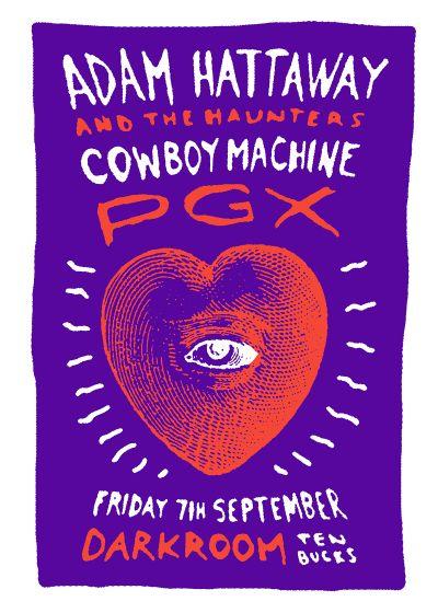 Adam Hattaway, The Haunters, Cowboy Machine, PGX