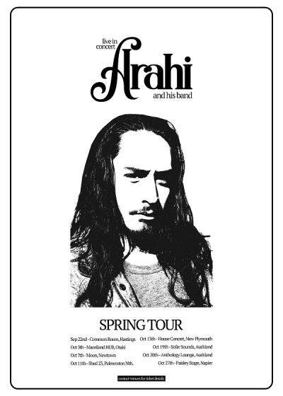 Arahi - Spring Tour
