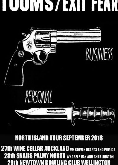 Tooms - Exit Fear - Lil North Island Tour