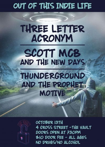Three Letter Acronym, Scott MCB, Thunderground and The Prophet Motive