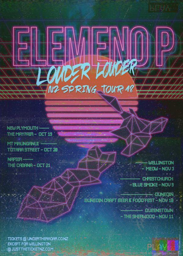 Elemeno P - The Louder Louder Spring Tour