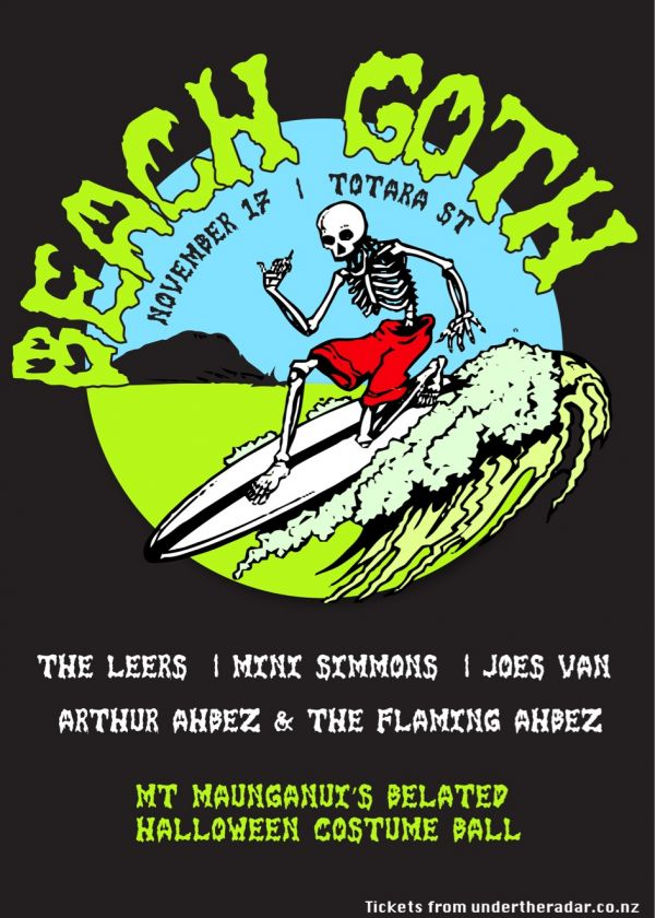 Beach Goth - The Mounts Belated Halloween Costume Ball