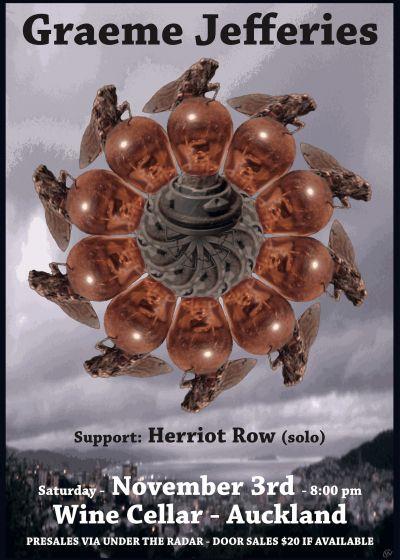 Graeme Jefferies with Herriot Row (solo)