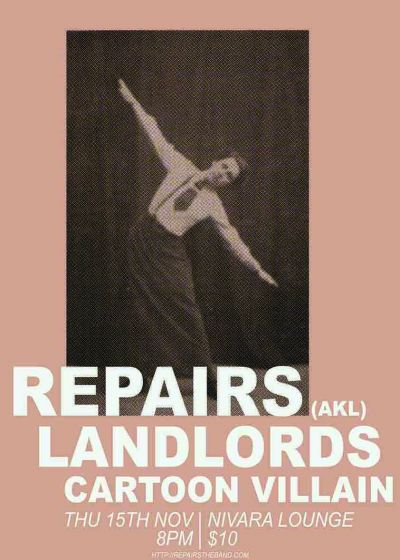 Repairs, Landlords and Cartoon Villain