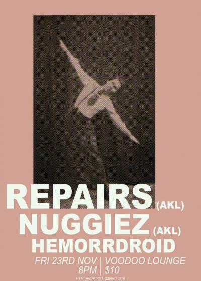 Repairs, Nuggiez, Hemorrdroid