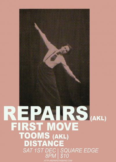 Repairs, First Move, Tooms + Distance
