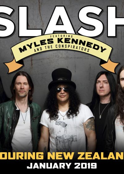 Slash with Miles Kennedy And The Conspirators
