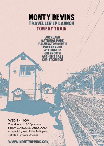 Monty Bevins - Traveller EP Launch - Tour By Train