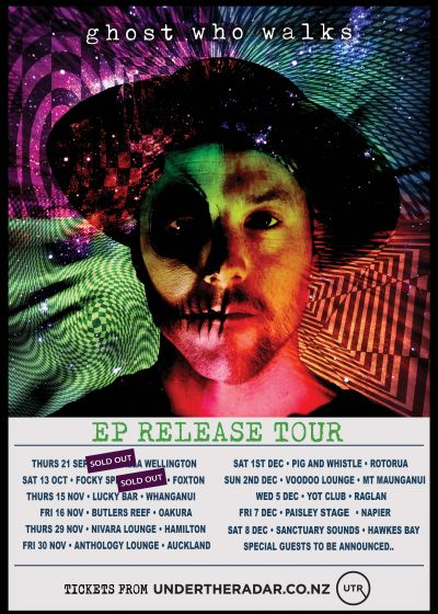 Ghost Who Walks - Debut Ep Release Tour