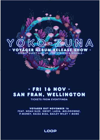 Yoko-Zuna Voyager Album Release Show
