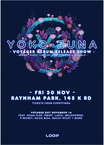 Yoko-Zuna Voyager Album Release Show with support from Wax Chattels