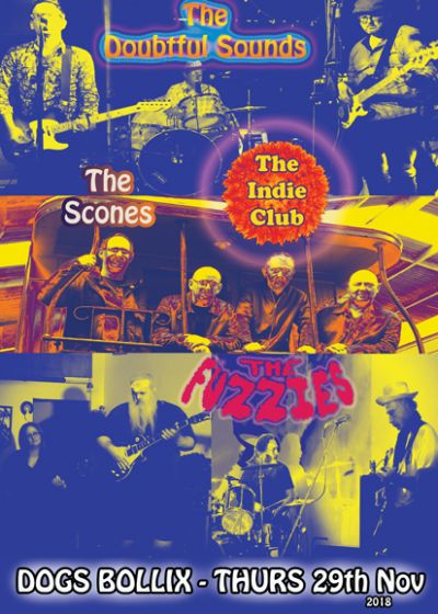 The Doubtful Sounds Play Indie Club
