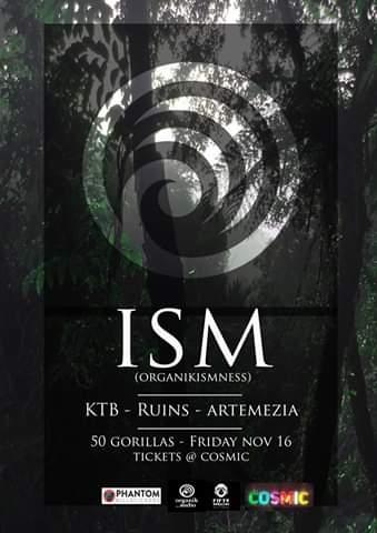 Ism - Album Release Tour